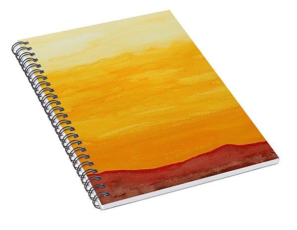 Moonshine Original Painting Sold Spiral Notebook