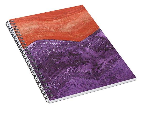 Mountain Majesty Original Painting Spiral Notebook