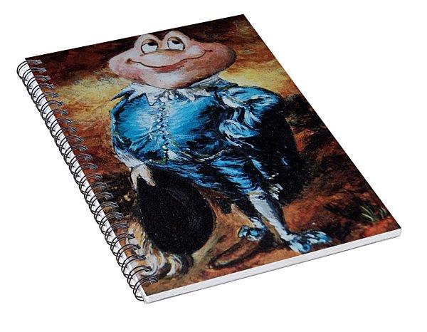 Mr Toad Spiral Notebook
