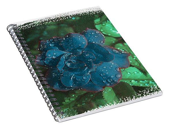 My Blue Rose Spiral Notebook
