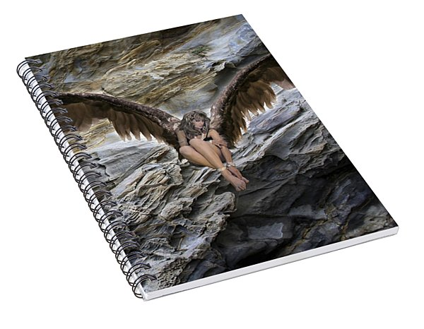 My Guardian Angel Spiral Notebook