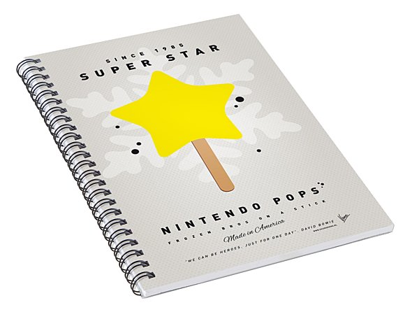 My Nintendo Ice Pop - Super Star Spiral Notebook