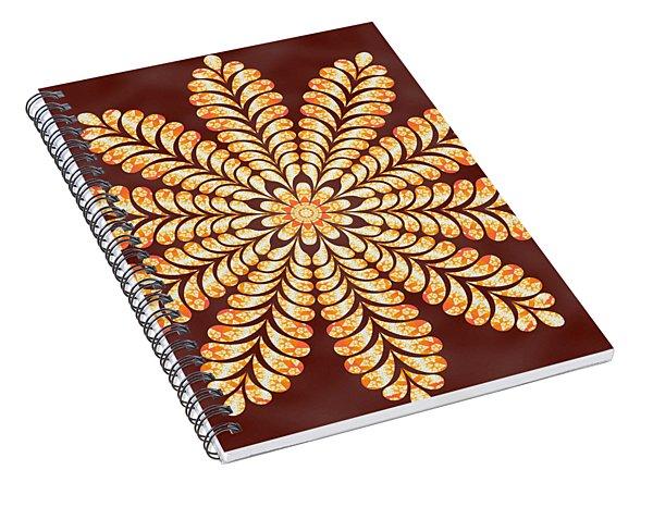 Mystery Jewel Of Kedah Spiral Notebook