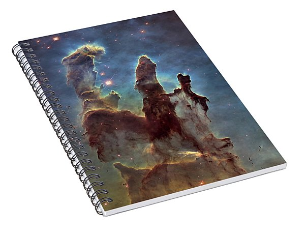 New Pillars Of Creation Hd Square Spiral Notebook