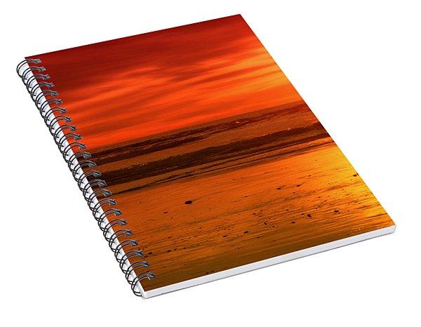 New Year's Love By Diana Sainz Spiral Notebook