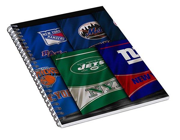 New York Sports Teams Spiral Notebook