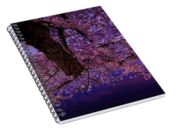 Night Blossoms Spiral Notebook