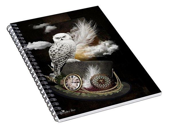 Night Guardian Spiral Notebook