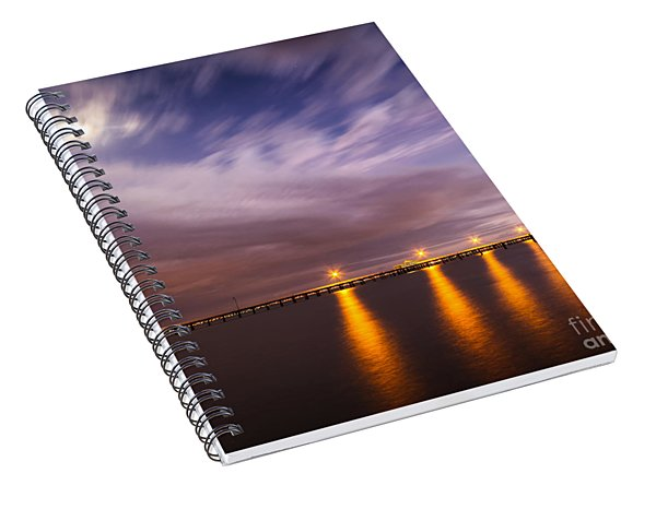 Night Meets Day Spiral Notebook