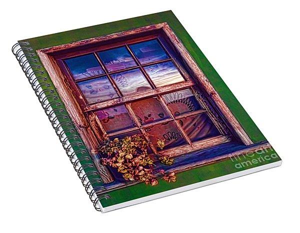 Nightscape La Palma-1 Spiral Notebook