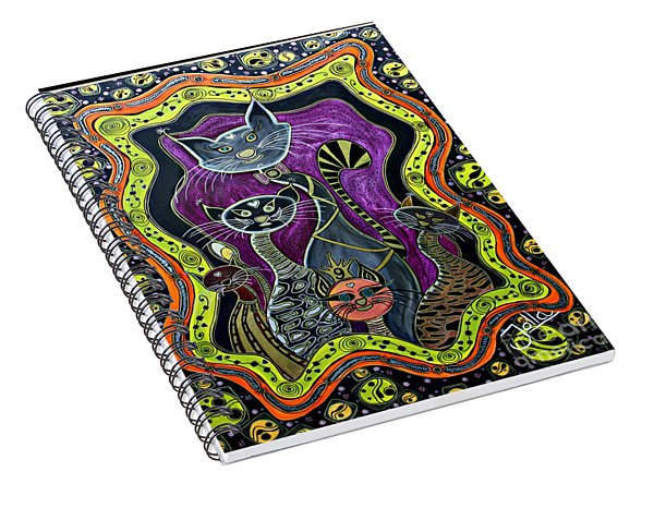 Nine Lives     Spiral Notebook