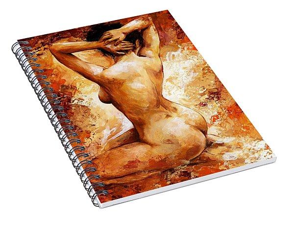 Nude 06 Spiral Notebook