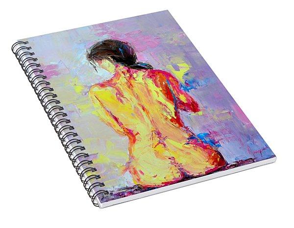 Nude Woman Figure No. 2 Spiral Notebook