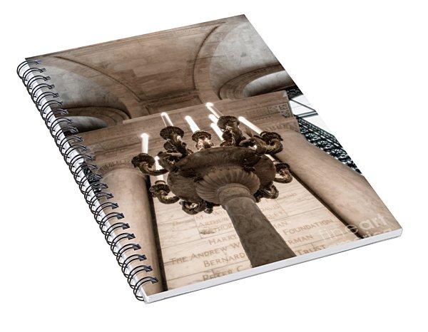 Ny Public Library Candelabra Spiral Notebook