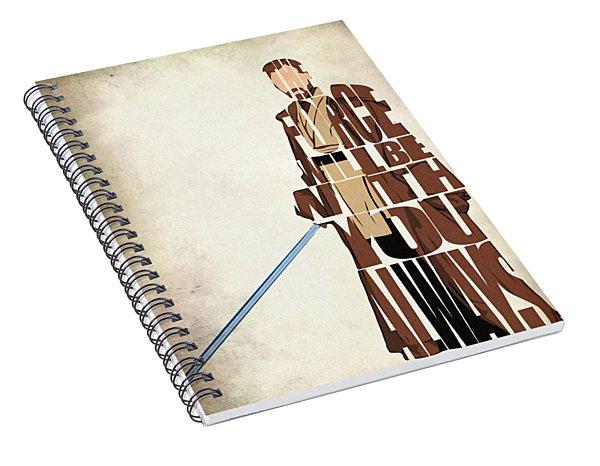 Obi-wan Kenobi - Ewan Mcgregor Spiral Notebook