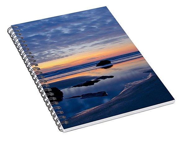 Ocean Sunrise Spiral Notebook