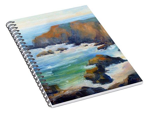 Schoolhouse Beach Overlook Spiral Notebook