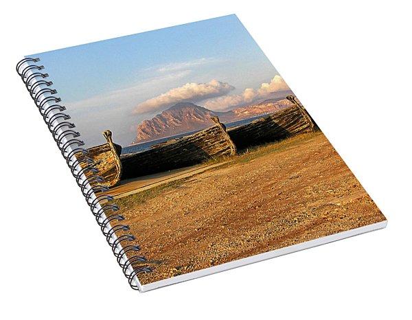 Aquatic Dream Of Sicily Spiral Notebook
