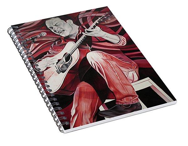 Dave Matthews-on Bended Knees Spiral Notebook