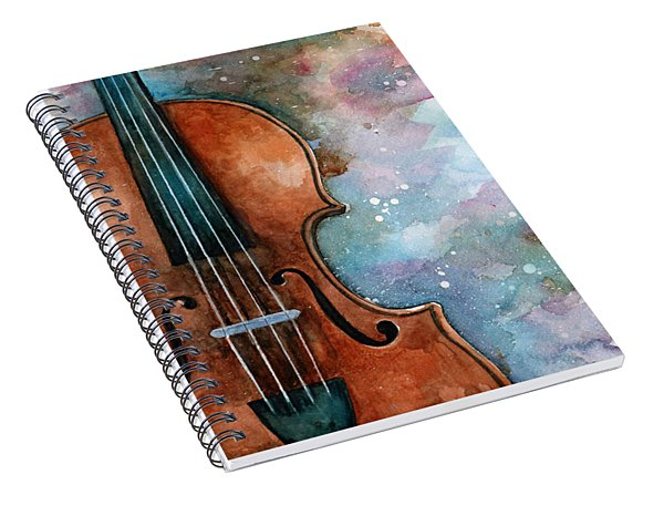 One Voice In The Cosmic Fugue Spiral Notebook