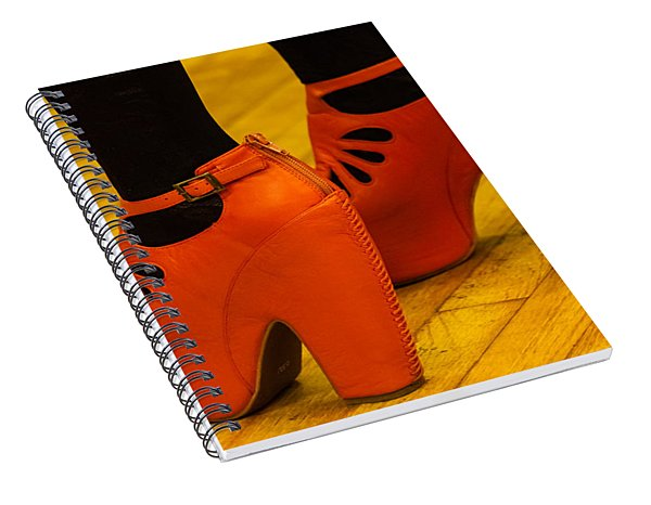 Orange Pair Spiral Notebook