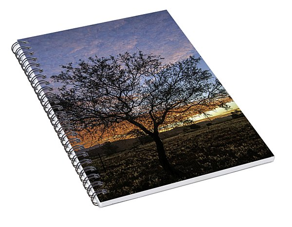 Outback Sunset  Spiral Notebook