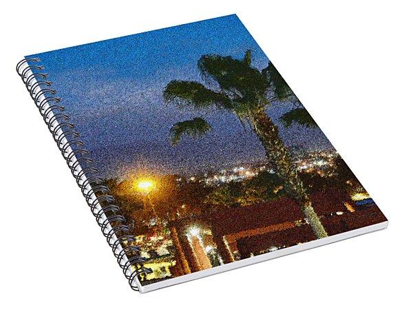 over the Luckman AT My CSU L.A. Spiral Notebook
