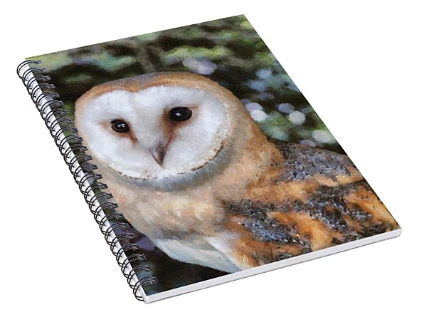 Owl - Bright Eyes 2 Spiral Notebook