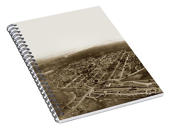 Pacific Grove 1200 From Feet Above Lovers Point And Monterey Bay 1906 Spiral Notebook