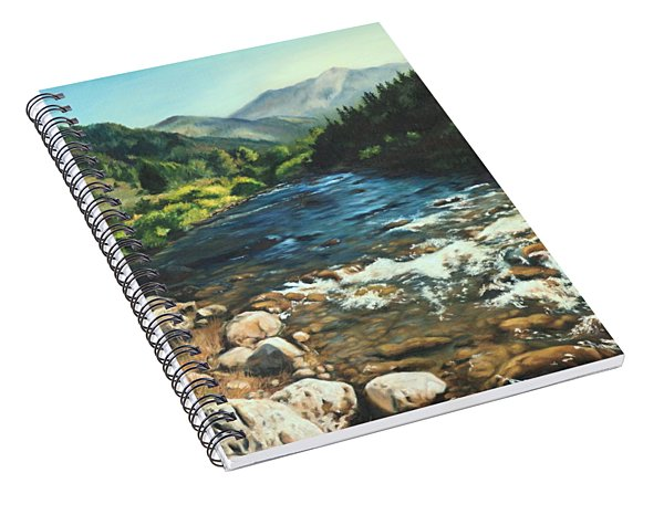 Palisades Creek  Spiral Notebook