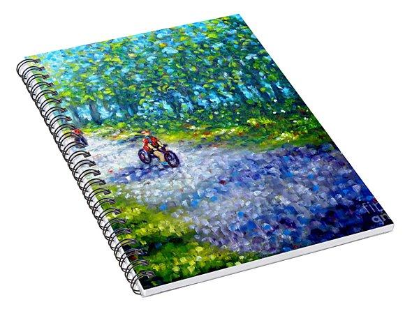 Park On St Helen Island - Montreal Spiral Notebook
