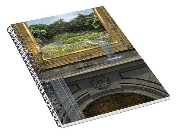 Passing Through Spiral Notebook