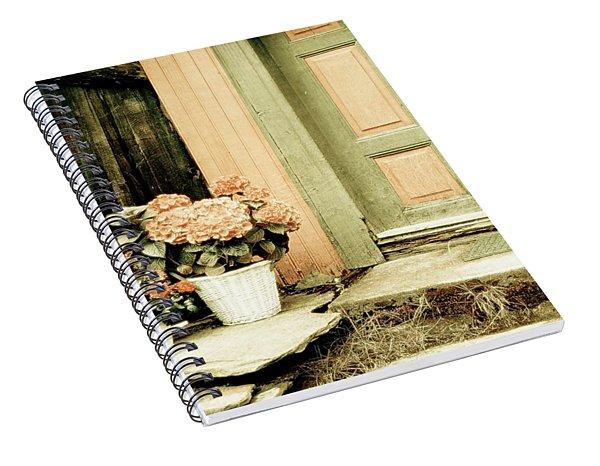 Pastel Colored Doorstep Spiral Notebook