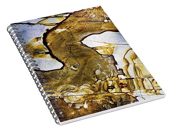 Patterns In Stone - 153 Spiral Notebook