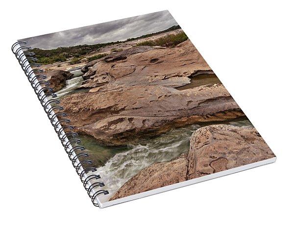 Pedernales Falls Spiral Notebook