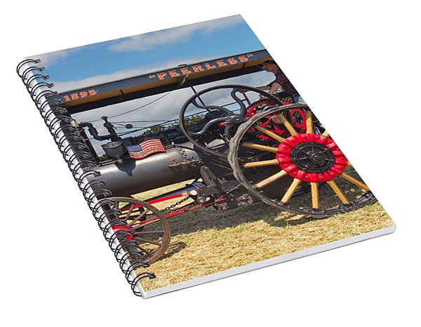 Peerless Steam Traction Engine Spiral Notebook