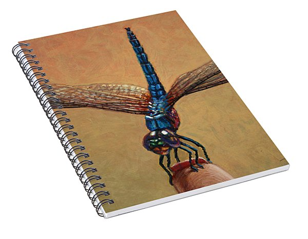 Pet Dragonfly Spiral Notebook