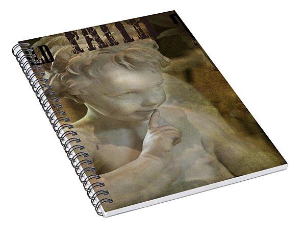 Peter Pan Pixie Dust Spiral Notebook