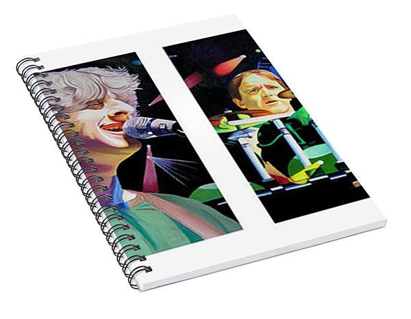 Phish Full Band Spiral Notebook