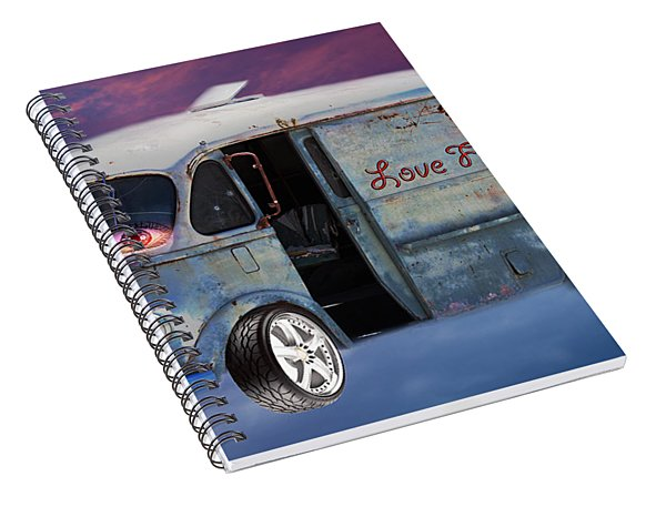 Pin Up Cars - #2 Spiral Notebook