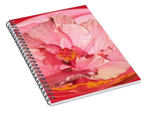 Pink Hibiscus 804 Spiral Notebook