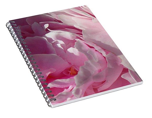 Pink Peonies Spiral Notebook