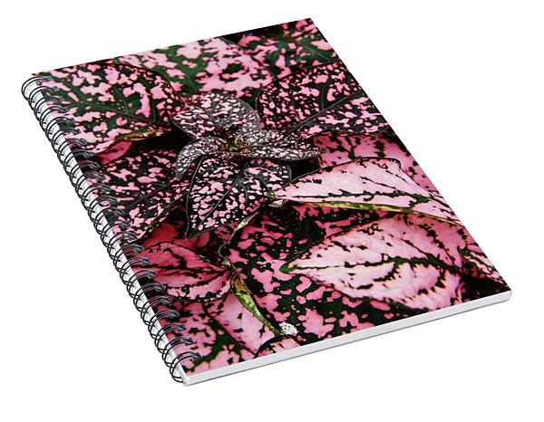 Pink - Plant - Petals Spiral Notebook