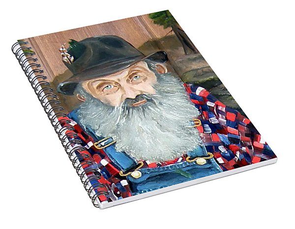Popcorn Sutton - Moonshine Legend - Landscape View Spiral Notebook