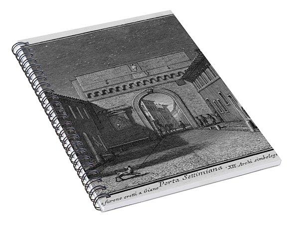 Porta Settimiana Spiral Notebook