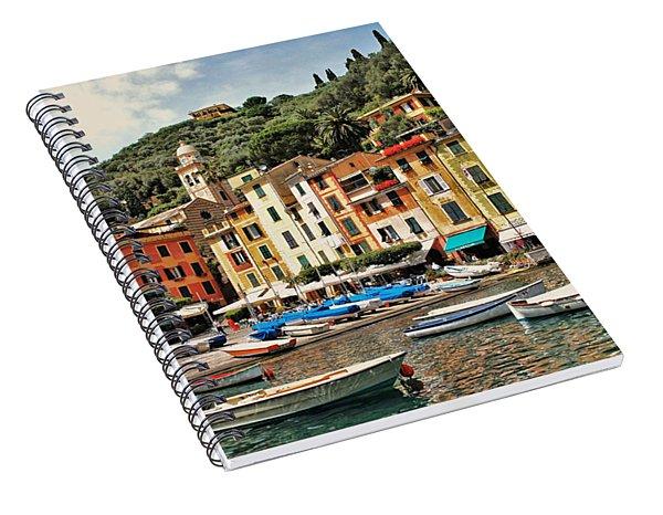 Portofino Harbor 2 Spiral Notebook