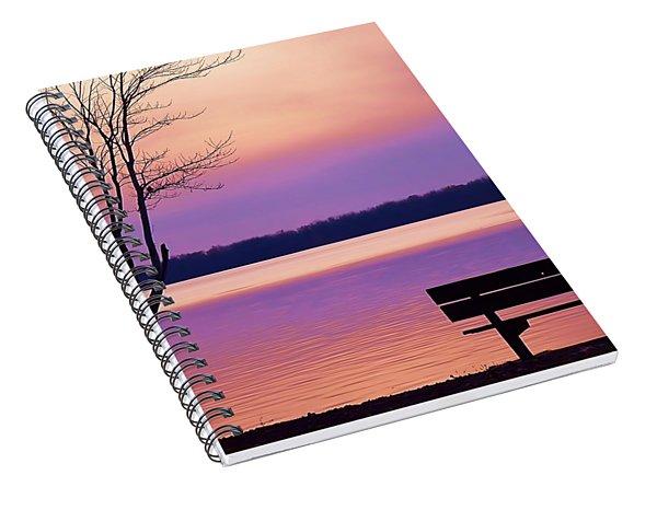 Presque Isle Solitude 11.12.12 Spiral Notebook
