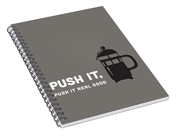 Push It Spiral Notebook