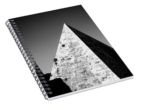 Pyramid Of Cestius Spiral Notebook