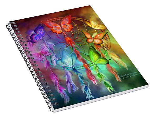 Rainbow Dreams Spiral Notebook